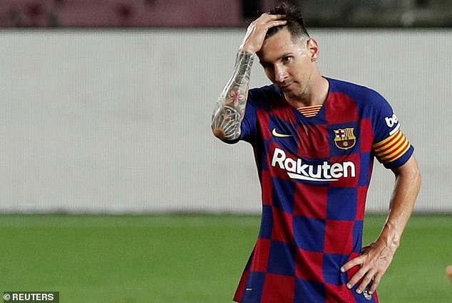 Messi pourrait quitter Barcelone à la fin de son contrat de 500 000 £ par semaine l'été prochain