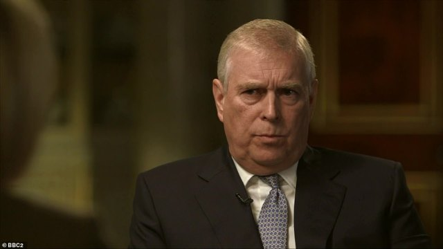 Prince Andrew (pictured during his BBC Newsnight interview last year) is under increasing pressure to give evidence - but the Duke's legal team insists he has offered to help US investigators