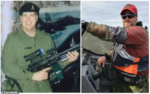 The suspect has been identified as Corey Hurren, a reservist in Canadian Rangers