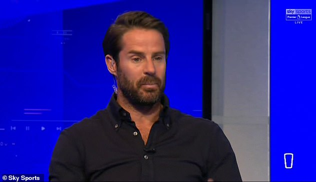 Jamie Redknapp, who hasn't worn the emblem since Tuesday, was seen without a BLM badge