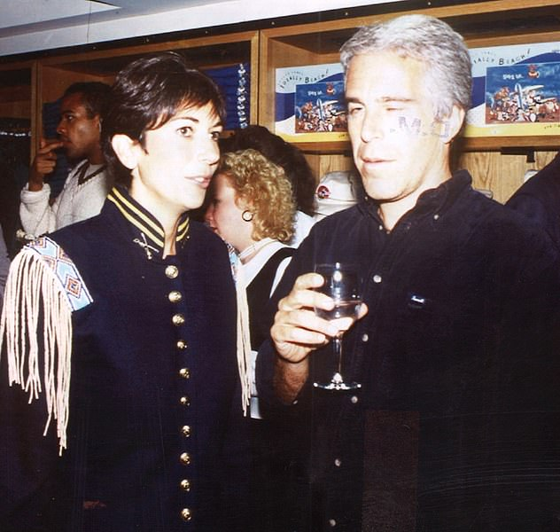 CONNECTIONS: With tycoon Epstein at height of their relationship in 1995. Witnesses described how Maxwell, pictured left, so adored Epstein, pictured right, that she would seemingly do anything for him, including bringing him other girls