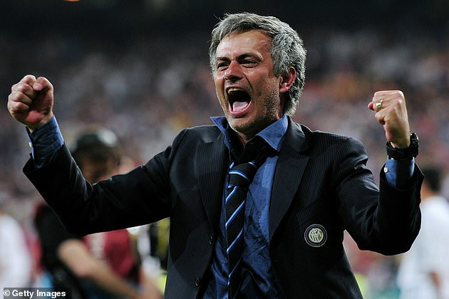 Portuguese manager guided his team to a feat never before achieved in Italian football