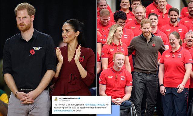Prince Harry postpones Invictus Games Dusseldorf