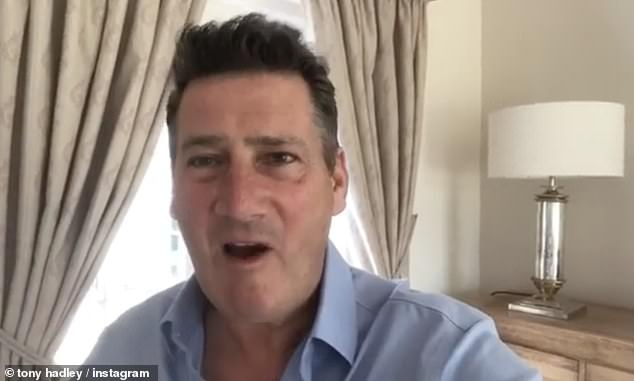Oh dear!  Commenting on the decision to use Gold for a Bold washing powder advertisement, Tony said, `` It's embarrassing.  I posted a warning on social media saying,