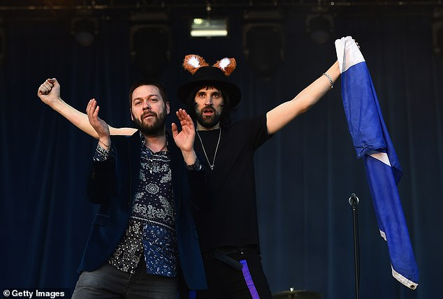 In 2018, the member of the group Serge Pizzorno, (on the right), released his first solo album under the name SLP (Sergio Lorenzo Pizzorno)