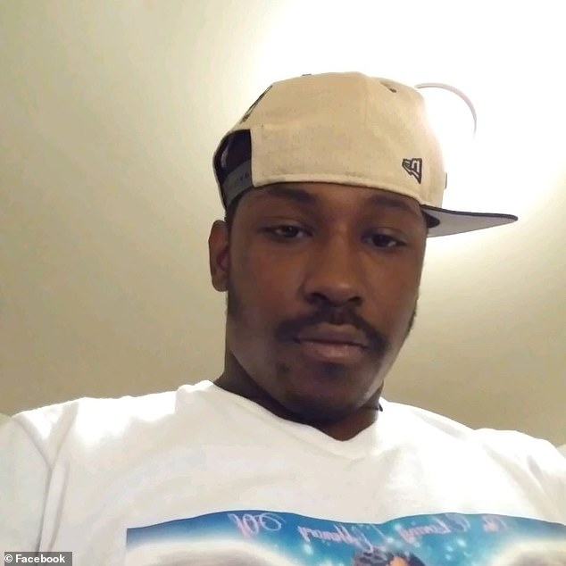 The killing happened near the Wendy's restaurant where a black man, Rayshard Brooks (above), was killed by a white police officer June 12