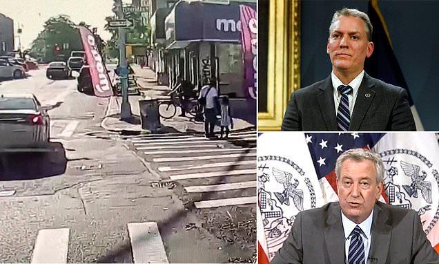 Bill de Blasio blames NYC's surge in violence on coronavirus pandemic