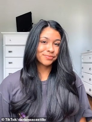 There are five beauty items that are consistently raved about on TikTok, including Revlon's styling brush and volumiser (pictured after)