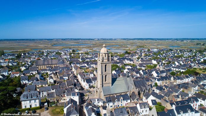 6th - Batz-sur-Mer on the Guérande peninsula in western France. This village stands on an expanse of salt marshes and