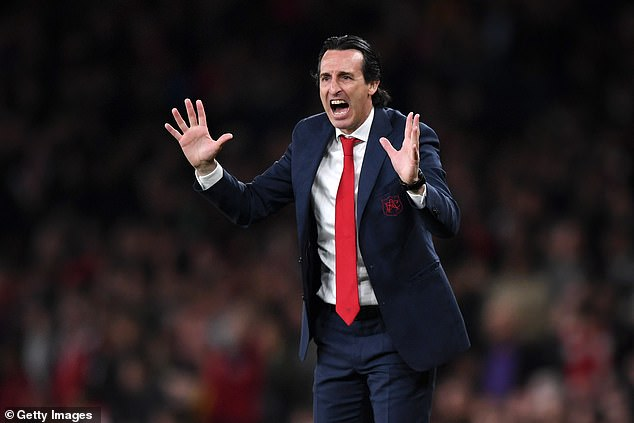 Unai Emery attempted to improve drift standards but lacked authority