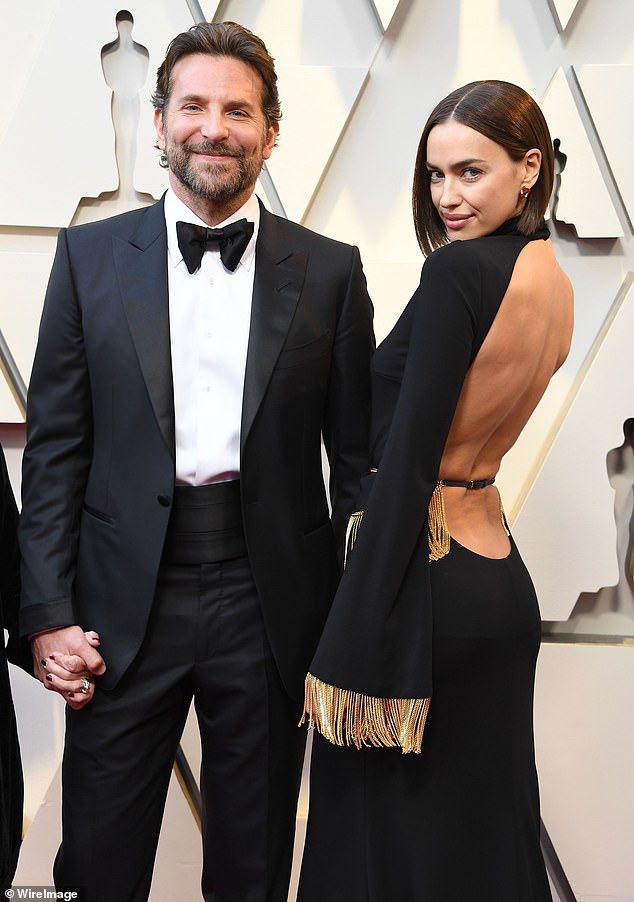 Since lockdown began: Irina's mainly stayed local in New York, where she co-parents her young daughter Lea De Seine with ex-partner Bradley Cooper; the pair seen in February 2019