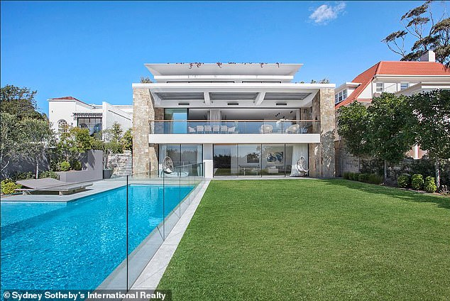 Real estate agent Alison Coopes sold Marcus Levy a mansion (pictured) in Sydney's Vaucluse for $6.36 million in 2015, before he went on to sell it for $20.8million in 2018