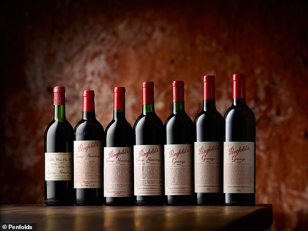 Penfolds (pictured) is a world-renowned winemaker in South Australia and now boasts the county's most expensive plonk