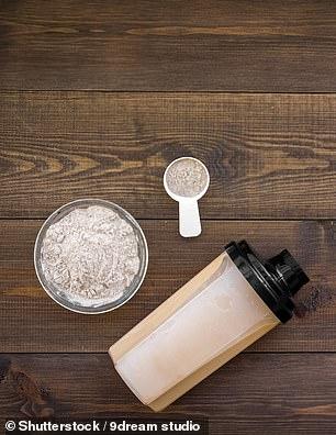 Protein powder (pictured)