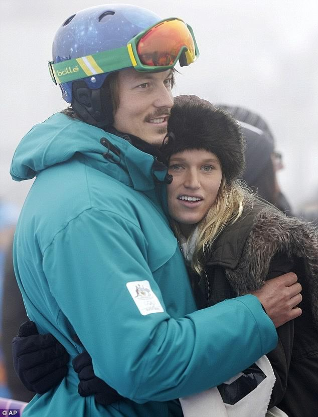 Champion snowboarder Alex Pullin was living a simple life on the Gold Coast with his model girlfriend before he tragically died in a freak accident on Wednesday