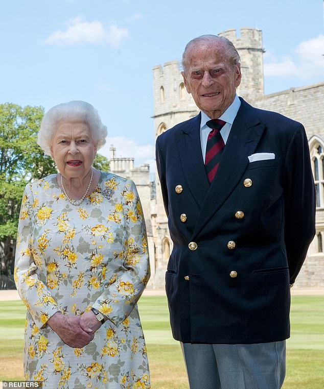 In the letter, Prince Philip criticises Australia for feeling aggrieved at Britain for failing to 'protect them from the Japs' (pictured, the Duke of Edinburgh with the Queen at Windsor Castle)