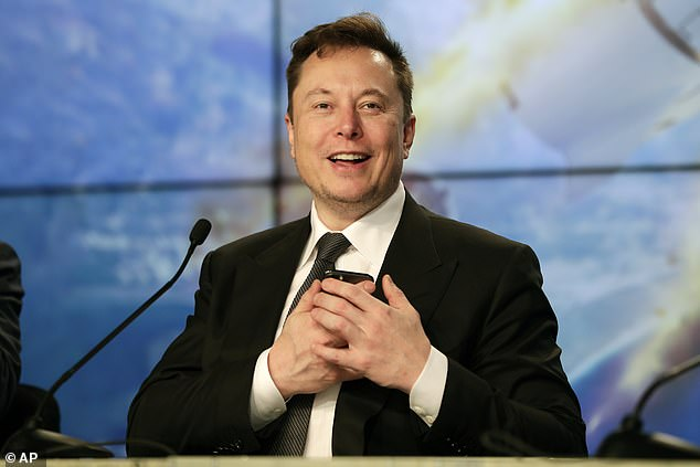 SpaceX has been experimenting with ways to make the craft less visible from Earth, and the Jun 4 batch included one experimental craft with an inbuilt sun visor CEO Elon Musk said in April: 'We have a radio-transparent foam that will deploy nearly upon the satellite being released, and it blocks the sun from reaching the antennas'