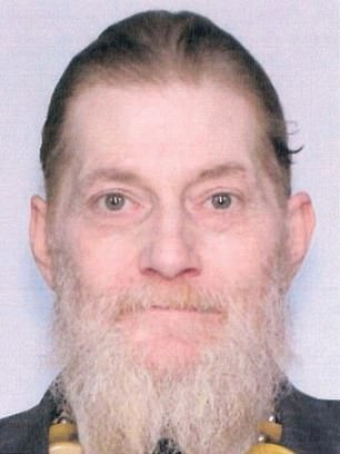 Jay Osmond Gardner, 55,was wanted for misconduct involving deadly weapons