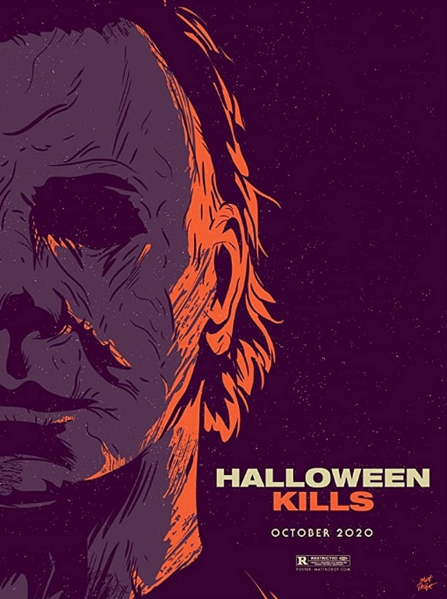 Not this year:Halloween Kills has been delayed by one year. The upcoming slasher film was supposed to be released in October this year, but due to ongoing concerns about the coronavirus pandemic it will come out in October 2021