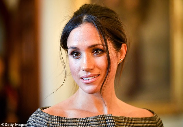 Meghan Markle, pictured above in January 2018, was given the title Dr The Duchess of Sussex, in a mistake thought to have been made by staff from Companies House