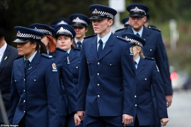 Mr Hunt first started working with New Zealand Police as a member of Wing 312 on 30 October 2017