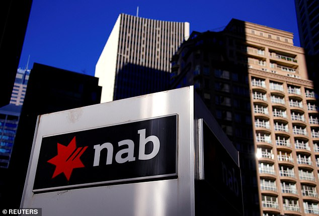 National Australia Bank'slevel of distrust skyrocketed from 36.9 per cent before the report in earlier this year was released to 53.7 per cent after the final findings were announced