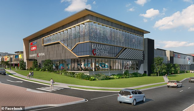 Kmart will be one of the major tenants whenYamanto Central (pictured, in plans) opens near Brisbane