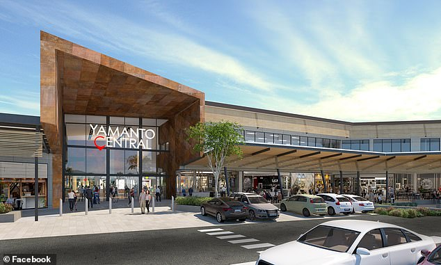Kmart will be among the first stores when Yamanto Central (pictured) opens its doors in early 2021