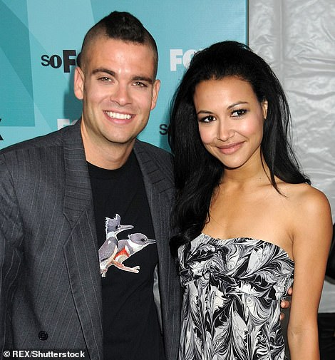 Shocking: He dated Naya from 2007 to 2010. In her 2016 memoir, Sorry Not Sorry: Dreams, Mistakes, and Growing Up, the actress admitted that she was not surprised by his horrendous convictions (Pictured: The former couple in 2009)