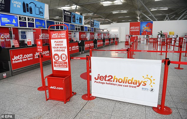 In its results covering the six months to September 30, Jet2 reported a decline in passenger numbers of over 90 per cent and a pre-tax loss of £68.7million