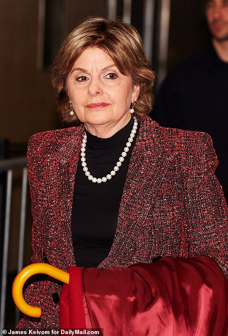 - lawyer Gloria Allred says Andrew wants an invitation 'on a silver platter'