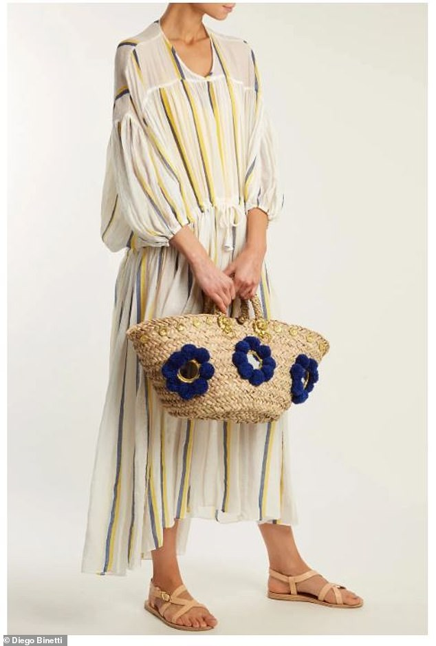 Everyday: A beach bag is not just for the Riviera or island hopping in Greece. Pictured: monaco v-neck dress by Diego Binetti, now $158; diegobinetti.com