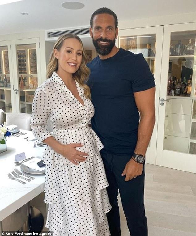 Momie à venir: Kate a documenté sa grossesse sur Instagram (photo avec Rio)