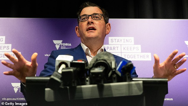Victorian Premier Dan Andrews (pictured) said he understood from his talks with the federal government further assistance would be announced later this month