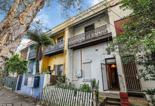 The 'dilapidated' 1880s terrace at 110 Morehead Street in Waterloo, in Sydney's inner south is described as 'not for the faint-hearted' in the property listing