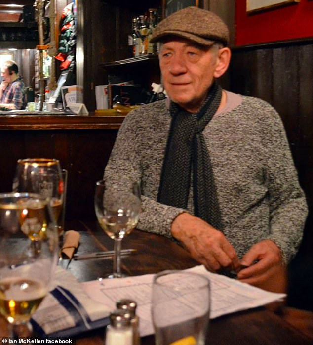 The Grapes pub at the centre of the row is ownedLord of the Rings star Sir Ian McKellen