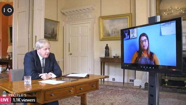 Speaking during an online Q&A session with members of the public, the PM admitted that 'the balance of scientific opinion seemed to have shifted' over how effective they can be