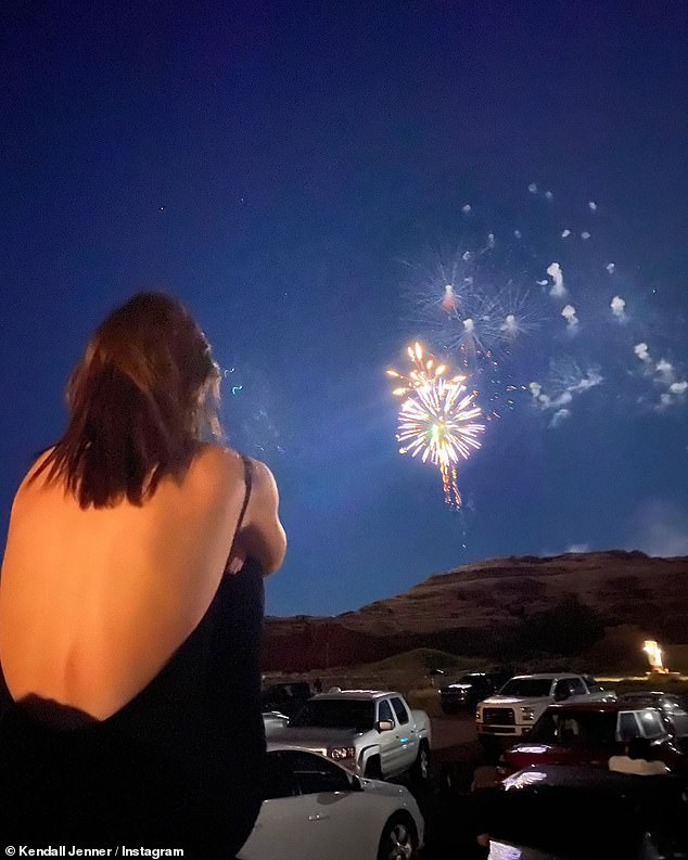 Independence Day: She watched the fireworks on America's birthday