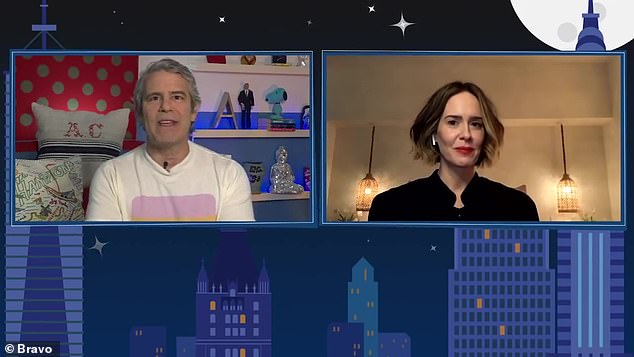 The people want to know: Host Andy Cohen relayed a question from a viewer who wanted to know Paulson's thoughts on the controversy