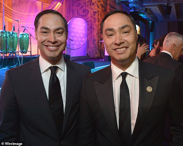 The stepmother of former Democratic presidential contender Julián Castro (left) and his twin brother, Texas Rep Joaquin Castro (right), died from coronavirus on Thursday