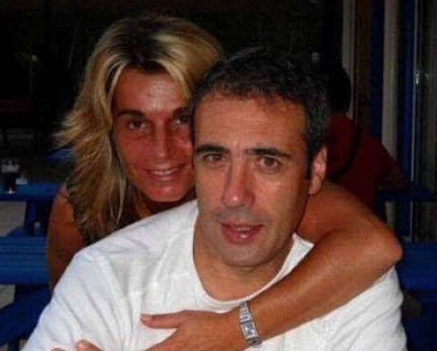Philippe Monguillot (pictured with his wife Véronique Monguillot), 59, was beaten by two passengers after trying to enforce coronavirus rules on his bus in Bayonne, France, on Sunday.