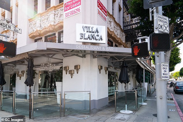 Moving on:Lisa Vanderpump is officially closing the doors to her beloved Villa Blanca restaurant in Beverly Hills after 12 years