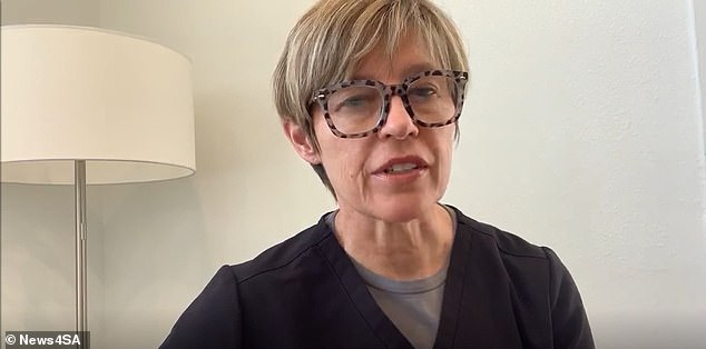 Methodist Healthcare Chief Medical Officer Dr. Jane Appleby (pictured) said she was speaking out about this case because of increasing coronavirus case rates in the county
