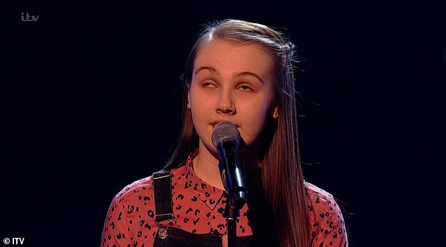 Incredible! The Voice Kids returned to ITV on Saturday, and viewers were left sobbing as a blind 13-year-old girl named Lydia stunned coacheswith her phenomenal singing voice