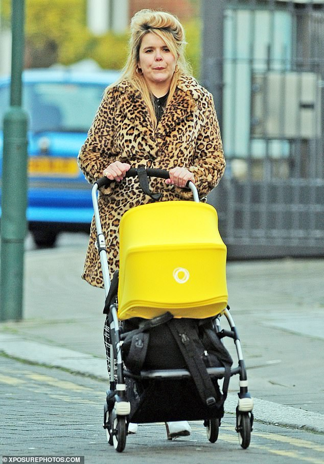 Brave:Paloma Faith has bravely spoke about her battle with postnatal depression and struggle to adapt to being a mother to her now three-year-old daughter (Pictured in 2017)