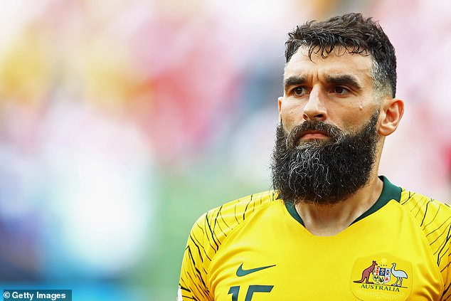 Jedinak made 79 appearances for Australia, featuring at three World Cup tournamentstwo of those as captain - and scored 20 goals before he ended his international career in October 2018
