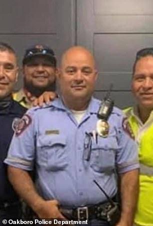 McAllen Police Officer Edelmiro Garza (center)