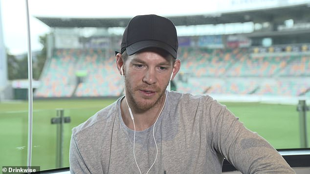 Paine said he struggled to eat and sleep at the height of his anxiety and kept his demons to himself