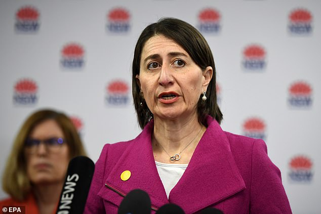 Premier Gladys Berejiklian said the state was on high alert for community transmission