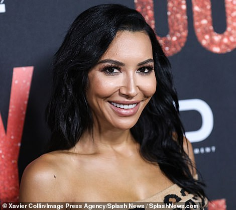 The search for the Glee star, 33, (pictured) entered its fifth day on Sunday following her disappearance while out boating at Lake Piru in Ventura near Los Angeles with her four-year-old son Josey on Wednesday